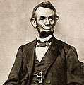 Portrait Of Abraham Lincoln by Mathew Brady
