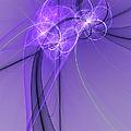 Purple Illusion by Gabiw Art