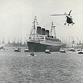 Queen Mary Leaves Southampton On Last Voyage by Retro Images Archive