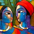 Radha Krishna by Sekhar Roy