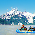 Rafters On The Alsek River by Josh Miller Photography