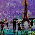 Rain In Paris by Inna Montano