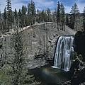 Rainbow Falls California by Don Kreuter