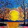Raining Sunset by Janet Immordino