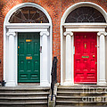 Red And Green by Inge Johnsson