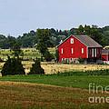 Red Barn Gettysburg by James Brunker