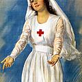 Red Cross Poster, 1918 by Granger