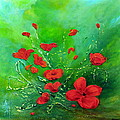 Red Poppies by Teresa Wegrzyn