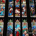 Religious Stained Glass Windows by Luis Alvarenga