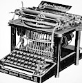 Remington Typewriter by Granger