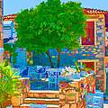 Colourful Restaurant by Roy Pedersen