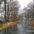 River With Snow by Mats Silvan