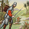 Robinson Crusoe by English School