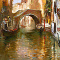 Romance In Venice  by Ylli Haruni