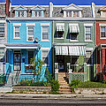 Row Houses In Washington D.c. by Mountain Dreams