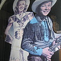 Roy Rogers And Dale Evans #2 Cut-outs Tombstone Arizona 2004 by David Lee Guss