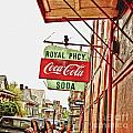 Royal Pharmacy Soda Sign by Scott Pellegrin