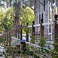 Rustic Country Front Porch by Diana Berkofsky