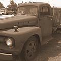 Rusty Ford Truck by Glenn Aker