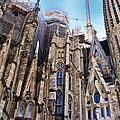 Sagrada Familia - Gaudi by Jon Berghoff