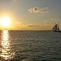 Sailing Into The Sunset - Key West by Christiane Schulze Art And Photography