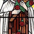 Saint Therese Of Lisieux by Gilroy Stained Glass
