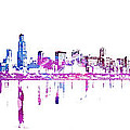 Chicago Skyline by Doc Braham