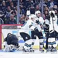 San Jose Sharks V Los Angeles Kings - by Harry How