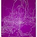 San Salvador Street Map - San Salvador El Salvador Road Map Art  by Jurq Studio