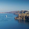 Santorini Caldera by Gary Eason