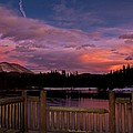 Sawmill Lake Sunset by Michael J Bauer