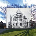 Sayles Hall At Brown University In Providence Rhode Island by Jeff Hayden