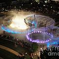 D101l-216 Scioto Mile Riverfront Park Fountain Photo by Ohio Stock Photography