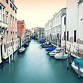 Secluded Canal In Venice by Ernst Cerjak