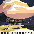See America Poster, C1937 by Granger