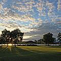 September Sky In Cazenovia by John   Kennedy
