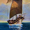 Ship Ahoy by Gillian Singleton