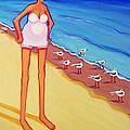 Shorebirds Of A Feather by Rebecca Korpita