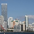 Skyline Miami by Christiane Schulze Art And Photography