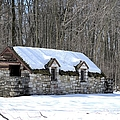 Snow On The Roof by Bonfire Photography
