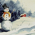 Snowman by Sam Sidders