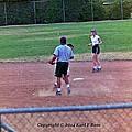 Softball Game by Karl Rose