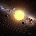 Solar System, Artwork by Sciepro