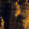 South Rim Grand Canyon Taken Near Mather Point Sunrise Light On  by Jim Corwin