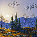 Southern Migration By Moonlight by Frank Wilson