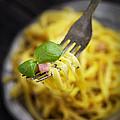 Spaghetti Carbonara by Mythja  Photography