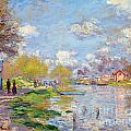 Spring By The Seine by Claude Monet