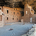 Spruce Tree House Mesa Verde National Park by Fred Stearns