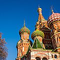 St. Basil's Cathedral by Alexander Senin