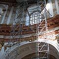 St. Charles Church - Karlskirche - In Vienna by Frank Gaertner